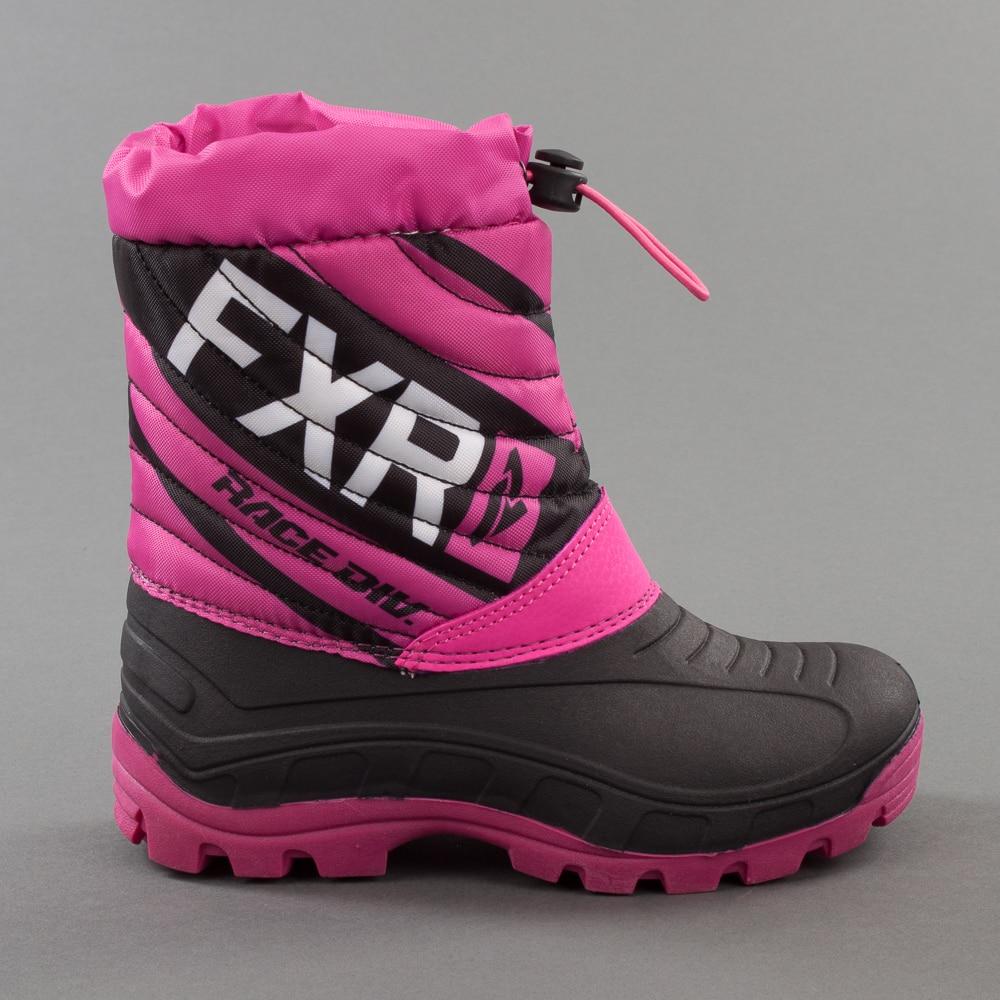 Kängor FXR Junior Octane, BlackFuchsia Skoterdelen